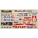 Decal Sheet 1/10 H&R Livery for GT3 132224