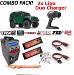 Traxxas TRX-4 Land Rover Defender Duo ..::Combo Pack::..