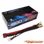 GensAce 2S 4600mAh RS Shorty 60C 7.4V LiPo
