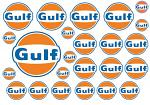 Gulf Decal Sheet for 1/10 BRPD1001