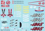 H. VF-16 (2016) F1 Decal Sheet for 1/10 BRPD1320