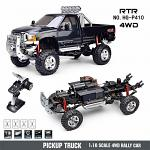 HG P410 2.4Ghz 4x4 Scale F350 Crawler Pick-Up 1/10 RTR Black