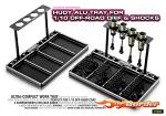 HUDY Alu Tray for 1/10 Off-Road Diff & Shocks 109801