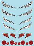 Headlight Decal Sheet for 1/10 Touringcar BRPD1014