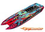 Traxxas Hull DCB M41 Hawaiian graphics (fully assembled) TRX5766