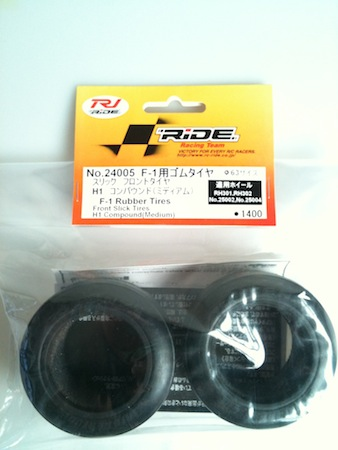 RIDE F104 Front Tire (type H1 compound) medium 24005