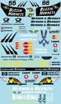 Jordan B&H Buzzin Hornets (1999) F1 Decal Sheet for 1/10 BRPD1327