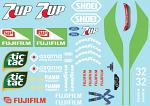 Jordan SevenUp (1991) F1 Decal Sheet BRPD1307