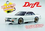 Kyosho Mini-Z MA020S NISSAN Silvia Pearl White W/Led & Gyro Special Edition 32134PW-G