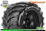 "Louise RC MT-Cyclone Tyres for 1/8 Stadium Truck 3.8"" 17mm Hex 1/2 Offset (2) LR-T3323BH"