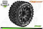 Louise RC ST-Uphill MFT 2WD Front/4x4 Front&Rear Tire Soft - 0 Offset Beadlock - Black LR-T3313SBH