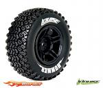 Louise RC SC-Hummer Traxxas Slash Tires - 2WD Front Wheels Soft Black Glued LR-T3224SBTF