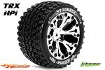 Louise RC ST-Hummer Traxxas Stampede/Rustler Tires - 2WD Front Wheels Chrome Glued LR-T3209SCH