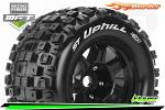 "Louise RC ST-Uphill Tyres for 1/8 Stadium Truck 3.8"" 17mm Hex 1/2 Offset (2) LR-T3326BH"