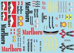 MP4-5 (1989) F1 Decal Sheet BRPD1305