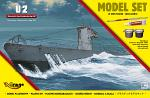 Mirage Hobby 1/400 German Submarine Type IIA - Starterset 840065