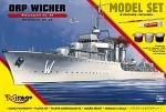 Mirage Hobby 1/400 ORP 'Wicher' Destroyer mk 35 - Starterset 840095