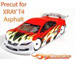 Mon-Tech Racer 1/10 190mm Body - Precut for XRAY T4 Asphalt 018-010