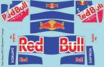 T.R. STR11 MonTech/XRAY Wing Set (2016) F1 Decal Sheet for 1/10 BRPD1325