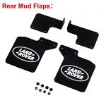 Mud Flaps TRX4 Land Rover Rear 2pcs. 900466