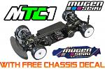 Mugen Seiki MTC1 1/10 Electro Touring Car w/FREE Chassis protector A2001