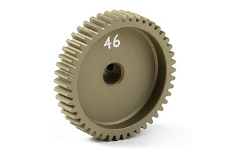 XRAY Narrow Pinion Gear Alu Hard Coated 46T / 64 305996