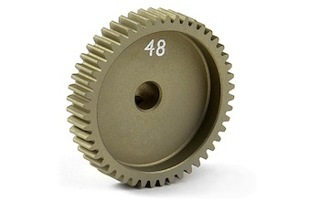 XRAY Narrow Pinion Gear Alu Hard Coated 48T / 64 305998