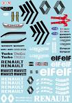R. Future Concept F1 Car Decal Sheet for 1/10 BRPD1326
