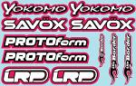 RC Brands Decal Sheet 2 - A5 Size - Pink BRPD1023