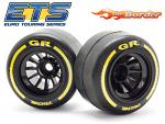 RIDE GR Formula 1 Rubber Rear Tyres 26042