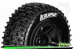 Louise RC SC-Pioneer Traxxas Slash Tires - 2WD Rear (4WD F/R) Wheels Soft Black Glued LR-T3148SBTR