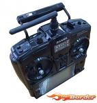 Sanwa EXZES ZZ Stick Transmitter Radio Set Limited Piano Black Edition 101A32075A