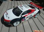 Serpent Body 1/8 GT Audi R8 Clear Precut 170357