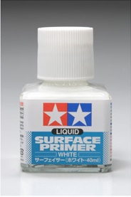 Tamiya Liquid Surface Primer 40ml - White 87096
