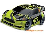 Traxxas Rally Ford Fiesta ST Electric Rally VR46 Rossi Edition TQ 2.4 74064-1VR46