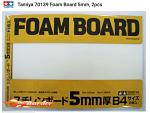 Tamiya Foam Board 364x257mm 5.0mm (1pcs) B4 Size 70139