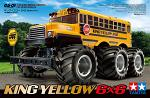 Tamiya King Yellow 6x6 G6-01 1/18 58653