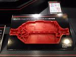Tamiya TT-02 Lower Deck Chassis - Red (Hard) 51532R