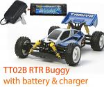 Tamiya TT-02B Neo Scorcher RTR XB Buggy with Battery & Charger 57867