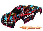Traxxas Body Stampede Hawaiian Graphics (Painted Decals Applied) TRX3649