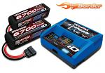 Traxxas 8S Combo (2X 2890X 14.8v LiPo & 1X 2971G ID Charger) 2993G