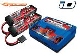 Traxxas 6S LiPo & Charger Combo 2x 5000mAh 3S Battery/Charger Complete Pack 2990