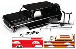 Traxxas Body Ford Bronco complete (black) (includes front and rear Bumpers/Push bar) 8010X