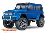 Traxxas Body Mercedes-Benz G500 Blue Painted Completed decals window masks 8811X