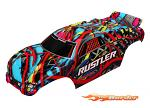 Traxxas Body Rustler Hawaiian Graphics (Painted, Decals Applied) 3749