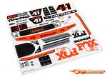 Traxxas Decals, Unlimited Desert Racer, Fox Edition 8515