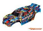 Traxxas Rustler Body - Rock & Roll (Painted & Decals Applied) 3748