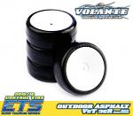 Volante V5 Tough 36R 1/10 TC Rubber Tire Pre-glued 4pcs V5T-PG36R