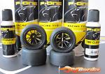 WRC P-One F1 Rubber Racing Tyres (2 Front + 2 Rear) P01