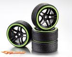 Absima Drift Wheel Set LP 10-Spoke 1/10 (4) 2510050